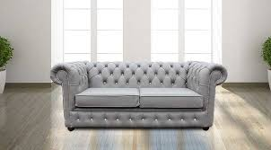 Grey Leather Chesterfield Sofa Buy Grey Leather Chesterfield Sofa With Buttons