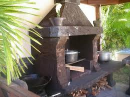 cuisine au feu de bois d été au feu de bois et barbecue de l hébergement