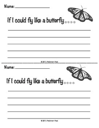 if you were a butterfly what would you do these writing prompts