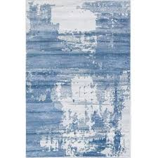 Modern Abstract Rugs Dress Up Your Floors Like Never Before With Modern Abstract Blue