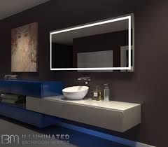 Lighted Mirror Bathroom Lighted Bathroom Mirror Harmony 70 X 32 In Ib Mirror