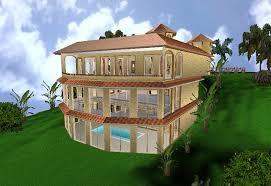 Hillside Home Plans with Hill Side Home From Zero Energy Design