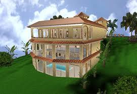 hillside home plans hill side home from zero energy design