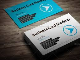 Business Cards Mockups Business Card Mockup With Actions Pack By Bluemonkeylab Graphicriver