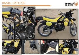 honda mtx honda mtx 75 r restaura la moto