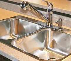 Choosing Stainless Steel Kitchen Sinks - Brushed steel kitchen sinks