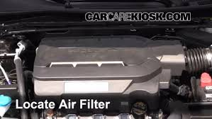 2014 honda accord filter 2013 2016 honda accord engine air filter check 2014 honda accord