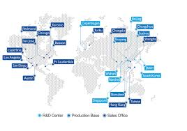 aac map aac worldwide sales support about aac