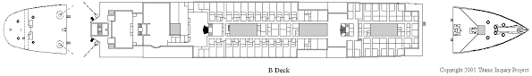 titanic floor plan titanic inquiry project deckplans b deck