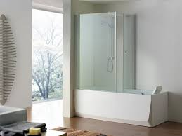 Shower Bathtub Combo Designs Charming Shower Tub Combo Ideas On Bathroom With Corner Bathtub