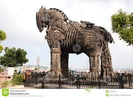 trojan horse stock photo image 47014169