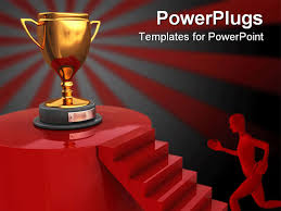 award powerpoint template free powerpoint templates awards