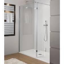 simpsons elite walk in easy access shower enclosure mirrored