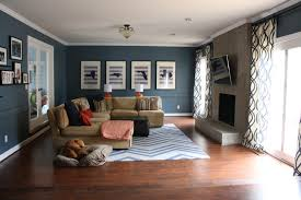 Laminate Flooring In Living Room Diy Family Room Renovation And Reveal
