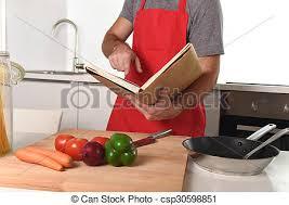 livre cuisine homme tablier recette livre unrecognizable hea suivre images de