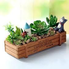 planters window herb garden shelves indoor kit gardens fairy box