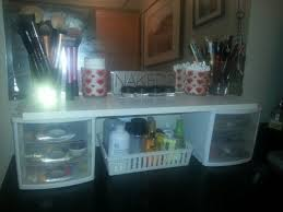 Bathroom Makeup Storage by Best 10 Diy Makeup Storage Ideas On Pinterest Diy Makeup Vanity