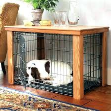 dog kennel side table side table dog crate wooden crate for dog ideas dog crate side table