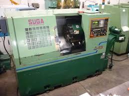 suga cl 15 20 cnc lathe with fanuc ot control