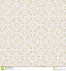 peach color flower sakura seamless pattern on peach color background stock