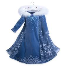 elsa costume elsa deluxe costume dress for kids