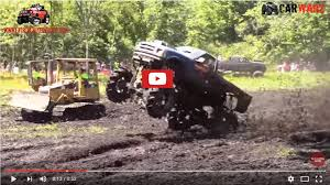 monster truck mud bogging videos the muddy news the million dollar monster truck bling machine