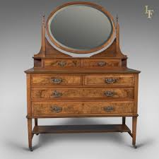 antique dressing table edwardian vanity chest of drawers english