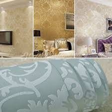 33ft textured victorian style wallpaper roll bedroom living room