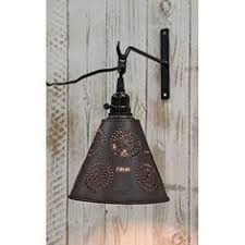 punched tin lighting fixtures stockbridge punched tin shade pendant with chisel farmhouse