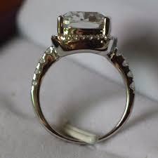 5 Carat Cushion Cut Engagement Rings All Sizes Vvs1 3ct Cushion Cut 4 5 6 7 8 Enagement Sona Nscd