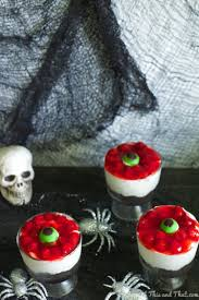 eyeball halloween cheesecake no bake halloween treat some of