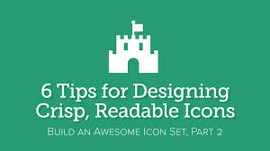 3 Tips For Designing The by 6 Tips For Designing Crisp Readable Icons U2013 Fort Awesome Articles