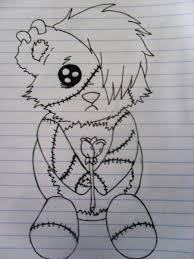 emo bear by bollubusta on deviantart
