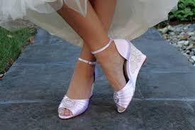 wedding shoes embellished heel wedding shoes wedge sandals peep toe high heels bridal shoes