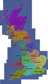 Map Of England And Ireland by Uk Regional Map Geocaching Com Wiki Geocaching Wiki