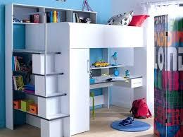chambre enfant mezzanine bureau gain de place lit mezzanine gain de place lit 2 places