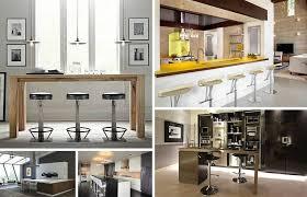 living ideas modern black home bar living room bar ideas 35