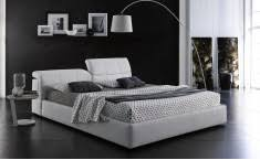 White Leather Platform Bed Leather Platform Beds