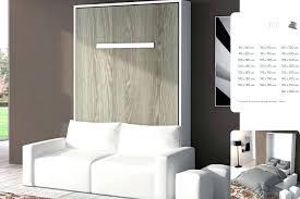canapé lit armoire lit escamotable avec canape integre canape lit armoire meubles lit