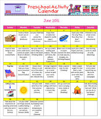 preschool calendar templates 8 download free documents in pdf