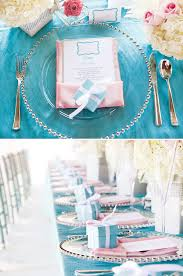 Tiffany Color Party Decorations Elegant Breakfast At Tiffany U0027s Inspired First Birthday Party
