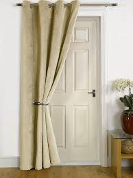Thermal Curtains For Patio Doors by Thermal Eyelet Door Curtain Scifihits Com