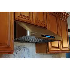 36 inch under cabinet range hood xtremeair 36 inch under cabinet stainless steel range hood r230 cfm 900