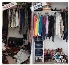 Wardrobe Organization 1 Hour Closet Organization Burlap U0026 Denimburlap U0026 Denim