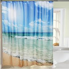 image of top l shaped shower curtain rod
