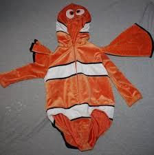 Finding Nemo Halloween Costumes Disney Store Finding Nemo Clown Fish Halloween Costume Xxs 2 3