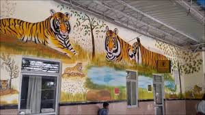 sawai madhopur alwar stations decorated on tiger theme youtube sawai madhopur alwar stations decorated on tiger theme