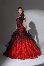 red black and white wedding dresses wedding ideas