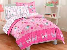 bedding for little girls princess bed set full pink magical princess fairy bedding for