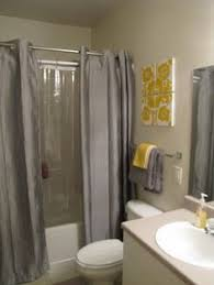 bathroom ideas with shower curtain chic affordable yellow and gray shower curtains gray shower